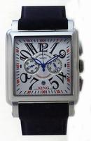 Franck Muller King Conquistador Cortez Chronograph Midsize Mens Wristwatch 10000 K CC-2
