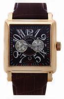 Franck Muller King Conquistador Cortez Chronograph Midsize Mens Wristwatch 10000 K CC-3