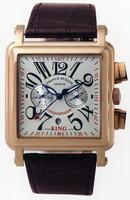 Franck Muller King Conquistador Cortez Chronograph Midsize Mens Wristwatch 10000 K CC-4