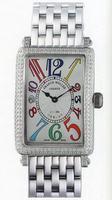 Franck Muller Ladies Large Long Island Large Ladies Wristwatch 1002 QZ COL D-1