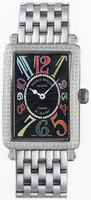 Franck Muller Ladies Large Long Island Large Ladies Wristwatch 1002 QZ COL D-2