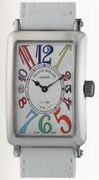 Franck Muller Ladies Large Long Island Large Ladies Wristwatch 1002 QZ COL DRM-1