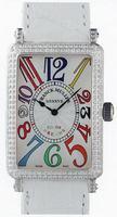 Franck Muller Ladies Large Long Island Large Ladies Wristwatch 1002 QZ COL DRM-3