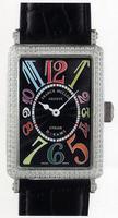 Franck Muller Ladies Large Long Island Large Ladies Wristwatch 1002 QZ COL DRM-4