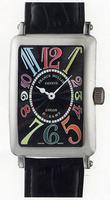 Franck Muller Ladies Large Long Island Large Ladies Wristwatch 1002 QZ COL DRM-5