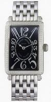 Franck Muller Ladies Large Long Island Large Ladies Wristwatch 1002 QZ D-2