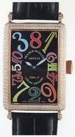 Franck Muller Long Island Crazy Hours Large Unisex Unisex Wristwatch 1200 CH-12