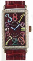 Franck Muller Long Island Crazy Hours Large Unisex Unisex Wristwatch 1200 CH-15