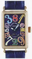 Franck Muller Long Island Crazy Hours Large Unisex Unisex Wristwatch 1200 CH-16
