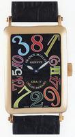 Franck Muller Long Island Crazy Hours Large Unisex Unisex Wristwatch 1200 CH-20