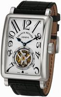 Franck Muller Mens Large Tourbillon Long Island Large Mens Wristwatch 1200 T