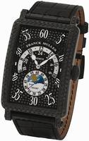 Franck Muller Mens Large Long Island Heure Retrograde Large Mens Wristwatch 1300 HR JN NR D CD