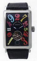 Franck Muller Long Island Crazy Hours Tourbillon Large Mens Wristwatch 1300 T CH-1