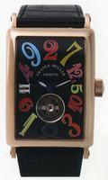 Franck Muller Long Island Crazy Hours Tourbillon Large Mens Wristwatch 1300 T CH-5