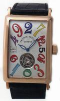 Franck Muller Long Island Crazy Hours Tourbillon Large Mens Wristwatch 1300 T CH-6