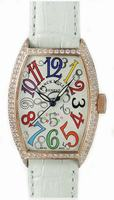 Franck Muller Ladies Small Cintree Curvex Small Ladies Wristwatch 1752 QZ COL DRM O-4