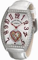 Franck Muller Cintree Curvex Tourbillon Small Ladies Ladies Wristwatch 3080 T D