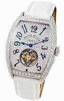 Franck Muller Cintree Curvex Tourbillon Small Ladies Ladies Wristwatch 3080 T D CD