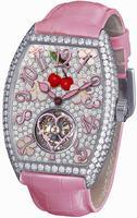 Franck Muller Cintree Curvex Sakura Small Ladies Ladies Wristwatch 3080 T D CD