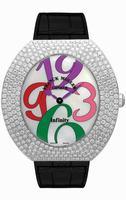Franck Muller Infinity Ellipse Extra-Large Ladies Ladies Wristwatch 3650 QZ A COL DRM D