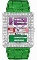 Franck Muller Infinity Reka Large Ladies Ladies Wristwatch 3740 QZ A COL DRM D CD