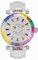Franck Muller Double Mystery 4 Saisons Large Ladies Ladies Wristwatch 42 DM 4 SAI BAG CD