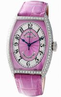 Franck Muller Cintree Curvex Chronometro Small Ladies Ladies Wristwatch 5850 SC CHR MET D