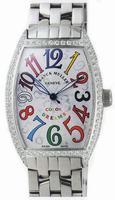 Franck Muller Mens Small Cintree Curvex Large Mens Wristwatch 5850 SC COL DRM O-1