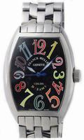 Franck Muller Mens Small Cintree Curvex Large Mens Wristwatch 5850 SC COL DRM O-3