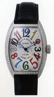 Franck Muller Mens Small Cintree Curvex Large Mens Wristwatch 5850 SC COL DRM O-4