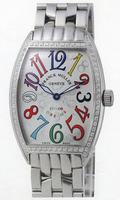 Franck Muller Mens Small Cintree Curvex Large Mens Wristwatch 5850 SC COL DRM O-8