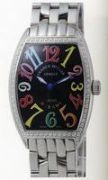 Franck Muller Mens Small Cintree Curvex Large Mens Wristwatch 5850 SC COL DRM O-9