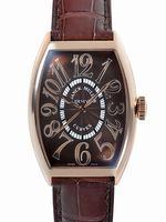 Franck Muller Curvex Large Mens Wristwatch 5850SC RELIEF