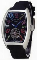 Franck Muller Cintree Curvex Crazy Hours Tourbillon Large Mens Wristwatch 5880 T CH COL DRM-1