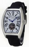 Franck Muller Cintree Curvex Crazy Hours Tourbillon Large Mens Wristwatch 5880 T CH COL DRM-4