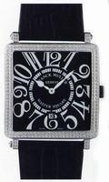 Franck Muller Master Square Mens Large Unisex Wristwatch 6000 H SC DT R-17