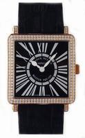 Franck Muller Master Square Mens Large Unisex Wristwatch 6000 H SC DT R-19
