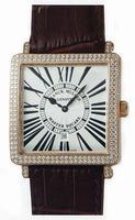 Franck Muller Master Square Mens Large Unisex Wristwatch 6000 H SC DT R-20