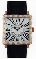 Franck Muller Master Square Mens Large Unisex Wristwatch 6000 H SC DT R-21