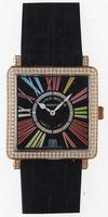 Franck Muller Master Square Ladies Medium Midsize Ladies Wristwatch 6002 L QZ COL DRM R-28