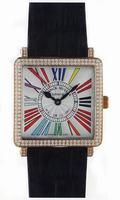 Franck Muller Master Square Ladies Large Large Ladies Wristwatch 6002 M QZ R-27