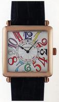 Franck Muller Master Square Ladies Large Large Ladies Wristwatch 6002 M QZ R-38
