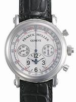 Franck Muller Chronograph Large Mens Wristwatch 7002CC