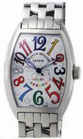 Franck Muller Mens Medium Cintree Curvex Extra-Large Mens Wristwatch 7851 SC COL DRM-1