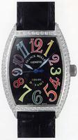 Franck Muller Mens Medium Cintree Curvex Extra-Large Mens Wristwatch 7851 SC COL DRM-2