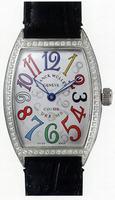 Franck Muller Mens Medium Cintree Curvex Large Mens Wristwatch 7851 SC COL DRM-3