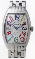Franck Muller Mens Medium Cintree Curvex Large Mens Wristwatch 7851 SC COL DRM-4