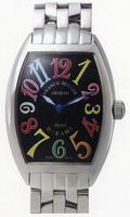 Franck Muller Mens Medium Cintree Curvex Large Mens Wristwatch 7851 SC COL DRM-5