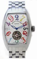 Franck Muller Cintree Curvex Crazy Hours Tourbillon Extra-Large Mens Wristwatch 7880 T CH COL DRM-2