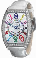 Franck Muller Totally Crazy Midsize Ladies Ladies Wristwatch 7880 TT CH COL DRM D